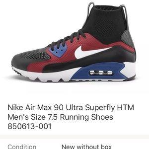 more photos 72df7 8b5bd Nike air max 90 ultra superfly 7.5
